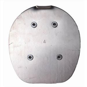Bilde av PG plate normal aluminium